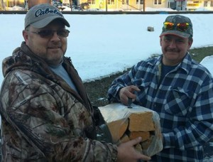 Steve Buss Kuhns Lumber Firewood Winner